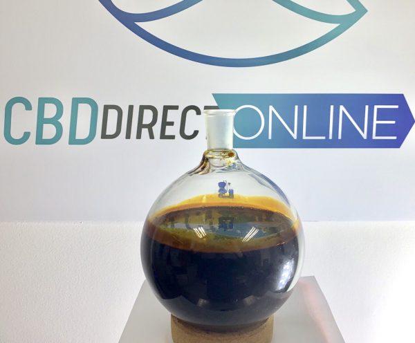 Wholesale CBD Crude Oil - Full Spectrum CBD Crude Oil 50%+