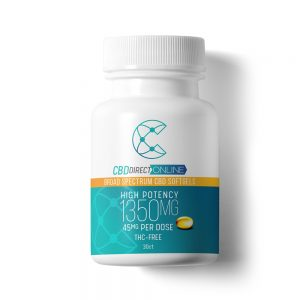 CBD Direct Online High Potency CBD Softgels
